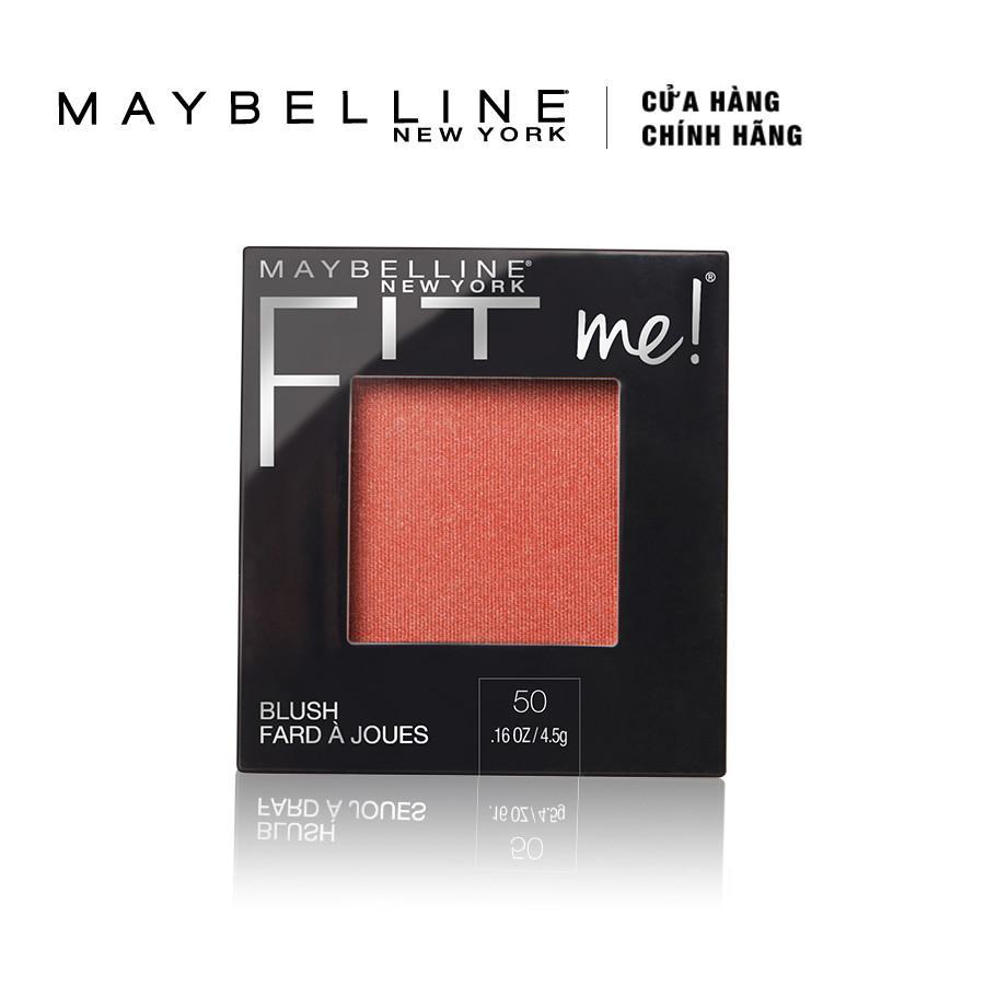 Phấn má hồng Maybelline Fit Me Blush 4.5g nhập khẩu