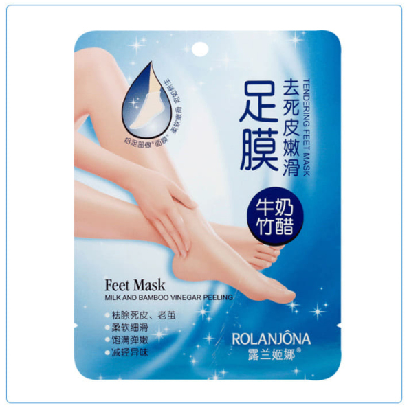 Combo 2 mặt nạ ủ chân tẩy da chết, mặt nạ ủ tay chân giúp trắng da, dưỡng ẩm, se khít lỗ chân lông, mặt nạ chân mới MAP-LV001