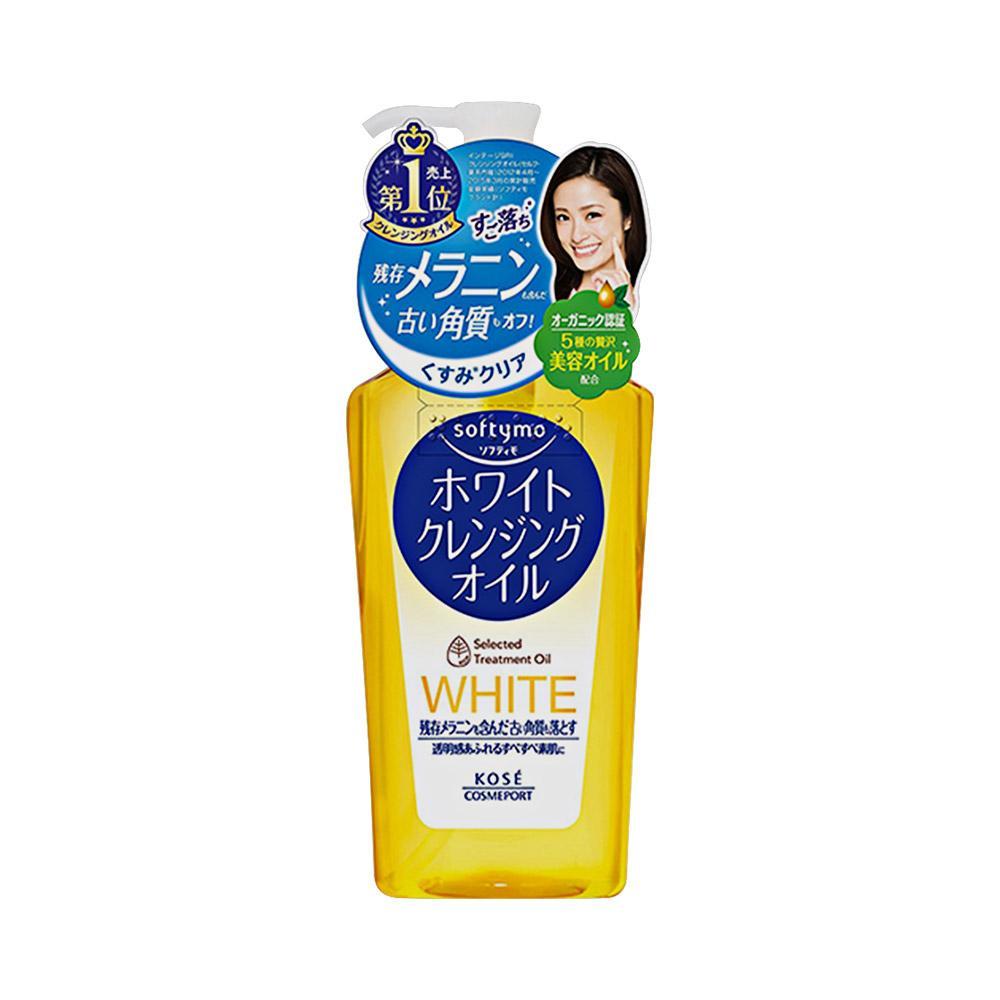 Dầu Tẩy Trang Kosé Cosmeport Softymo White Cleansing Oil Nhật nhập khẩu