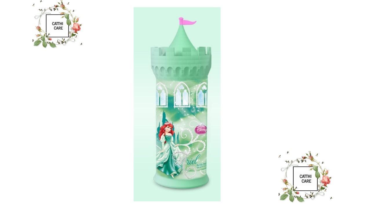 Sữa tắm bé gái Lâu Đài Công Chúa Disney ARIEL (Nàng Tiên Cá) - 350ml