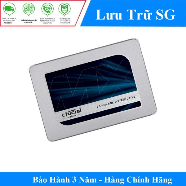 Bảng giá Ổ cứng Gắn Trong SSD Crucial MX500 250GB 2.5 SATA 3 - CT250MX500SSD1 - Hàng Phân Phối Chính Thức Phong Vũ