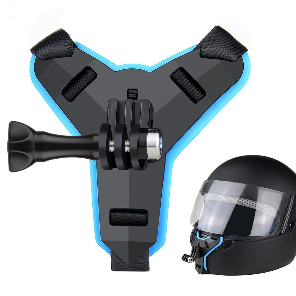 Lbnnac Camera Hành Động Cho GoPro Hero 8 6 5 Mũ Bảo Hiểm Toàn Mặt, Giá Đỡ Máy Ảnh Gắn Cằm Mũ Bảo Hiểm Xe Máy Chống Sốc Khung Mũ Bảo Hiểm Dây Đeo