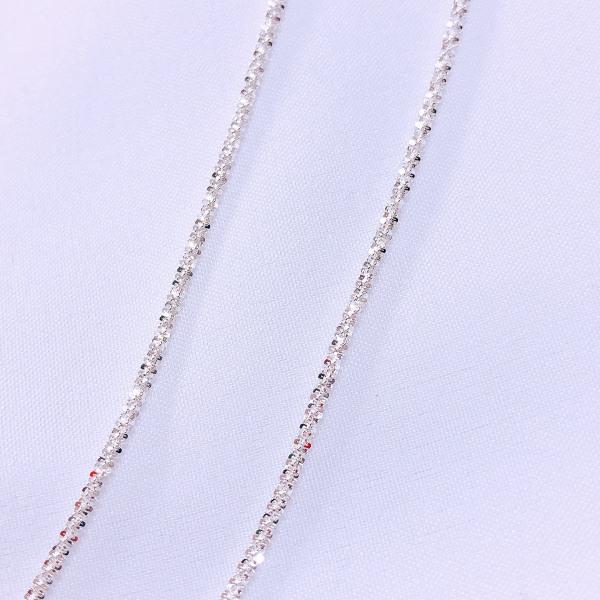 Dây chuyền nữ bạc thật giá rẻ vòng cổ nữ trơn không mặt mẫu tuyết xù cực đẹp/ JQN gian hàng uy tín, chất lượng