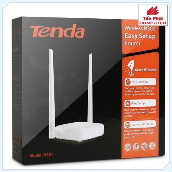 Bảng giá Bộ phát Wifi Tenda N301 Phong Vũ