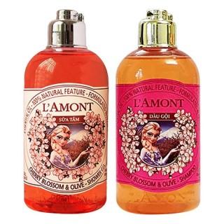 [HCM]Sữa tắm và Dầu gội LAmont En Provence hương Hoa Anh Đào cho bé - 250ml chai thumbnail