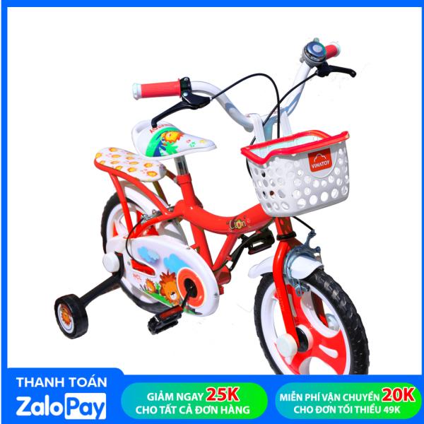 Giá bán Xe Đạp Trẻ Em Nhựa Chợ Lớn 14 inch K102 Dành Cho Bé Từ 4 - 5 Tuổi - M1791-X2B