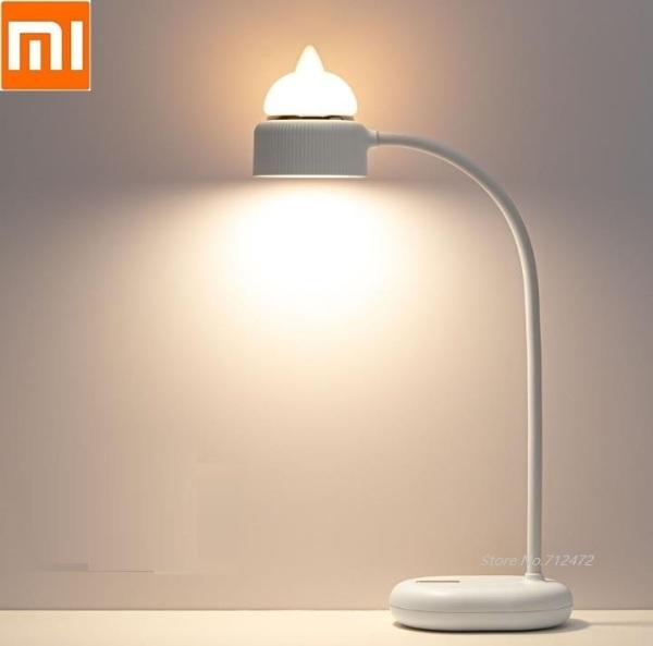 Đèn Khí Quyển Hình Mèo Dễ Thương Xiaomi 3Life, Đèn Bàn LED Bảo Vệ Mắt Đèn Ngủ Cạnh Giường, Đèn Đọc Sách 3 Bánh Có Thể Điều Chỉnh