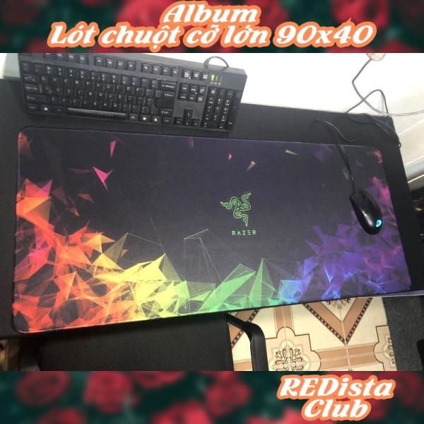 Bảng giá Album Lót chuột Gaming cao cấp nhiều kích cỡ, nhiều mẫu [90x40 cm, 20x25 cm] Phong Vũ