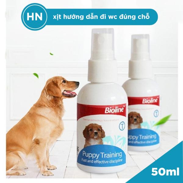 [HN] Chai Xịt Hướng Dẫn Đi Vệ Sinh Cho Chó Đi Đúng Chỗ Bioline Puppy Training - Phụ Kiện Cho Thú Cưng