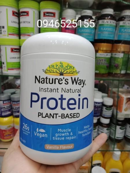 Bột Natures way Protein 375g Hương Vani nhập khẩu