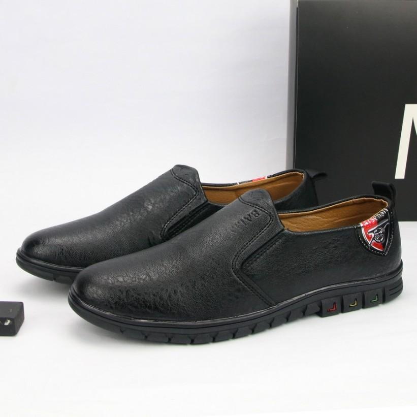 Giày lười nam màu da bò thiết kế thời trang G429 MuiDoi giá rẻ