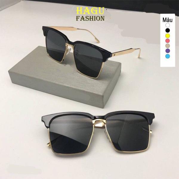 Giá bán Kính mát thời trang 💗Mắt kính gọng kim loại form vuông GM kiểu dáng Hàn Quốc 95 chống tia UV phong cách thời thượng