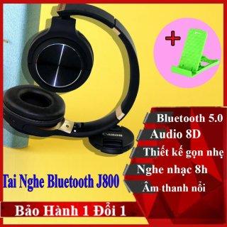 Tai nghe J880 - Tai nghe Bluetooth chụp tai - thời gian sử dụng 5h-Tai nghe Bluetooth 10m-tai nghe hỗ trợ thẻ nhớ-có míc đàm thoại-tai nghe không cần pin với dây cắm 3.5-kết nối 10m-chống va đập-hỗ trợ Fm-thẻ nhớ-Gấp nhỏ Gọn- G3 thumbnail