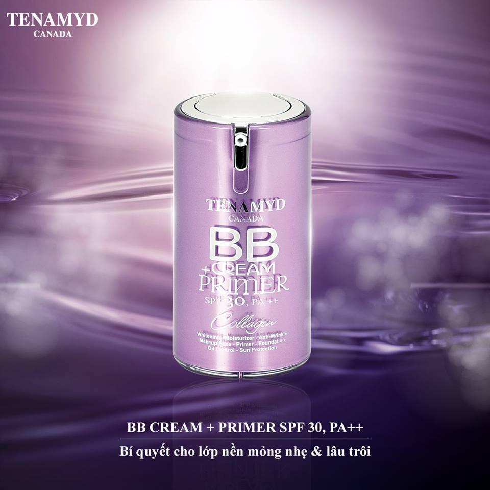 Kem nền Tenamyd BB Cream + Primer  SPF30/PA+++ nhập khẩu