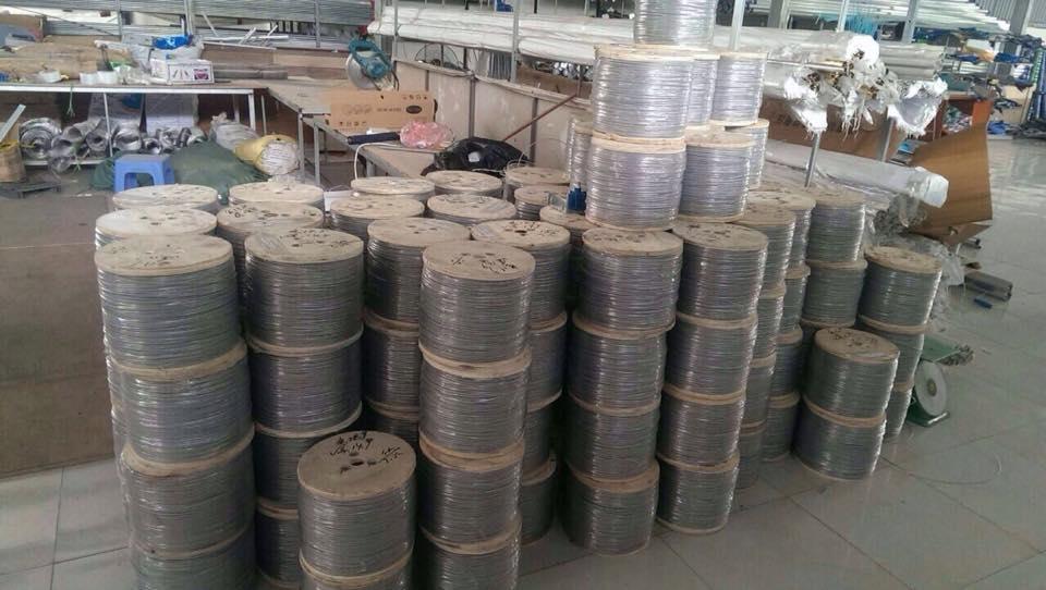 Lưới bảo vệ ban công inox tại Hà nội