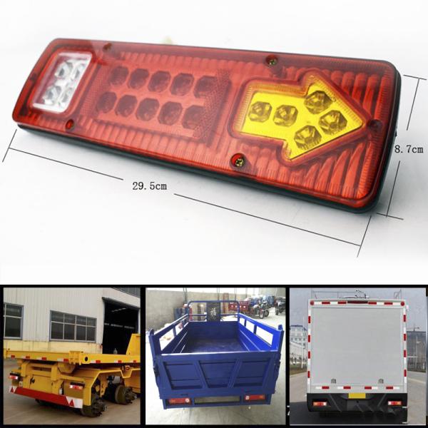 Đèn hậu đèn đuôi cho xe ba gác xe tải ( 1 cái ), thiết kế tiêu chuẩn cho xe tải, xe kéo, xe ba bánh, chất liệu ABS