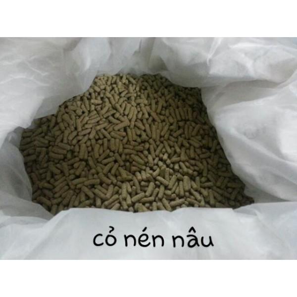 Cỏ nén nâu dành cho thỏ/bọ/sóc bắc mỹ trên 6 tháng tuổi ( hàng best seller) 500gr