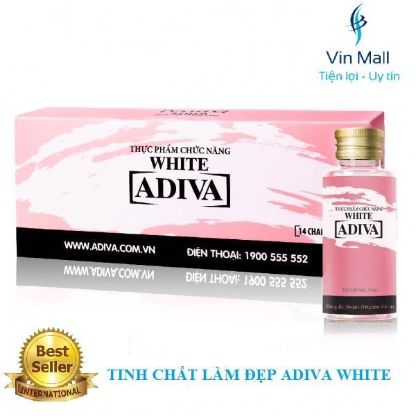 Tinh Chất Làm Đẹp Trắng Da ADIVA WHITE (Hộp 14 chai x 30 ml)