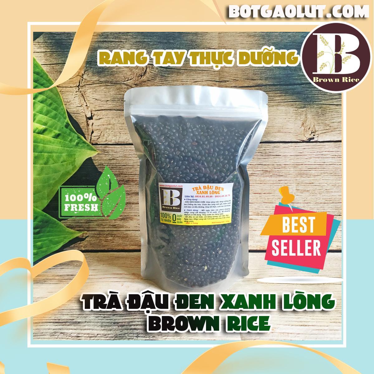 Trà đậu đen xanh lòng rang Brown Rice ( túi 01kg )