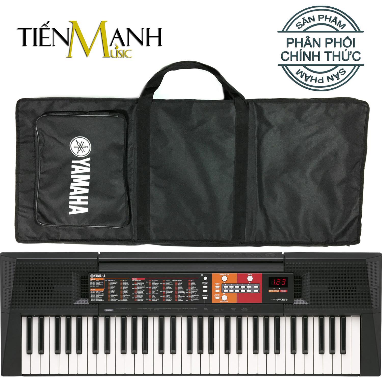 Đàn Organ Yamaha PSR-F51 - Hãng Phân Phối Chính Thức (Keyboard PSR F51 - Hàng Chính Hãng, Có Tem Chống Hàng Giả Bộ CA - Bộ Đàn, Bao, Nguồn) Giá Tốt Nhất Thị Trường