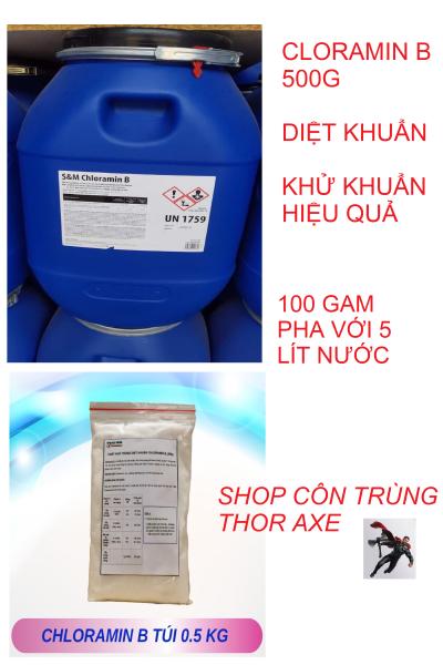 Cloramin B túi 500g phun khử trùng khử khuẩn