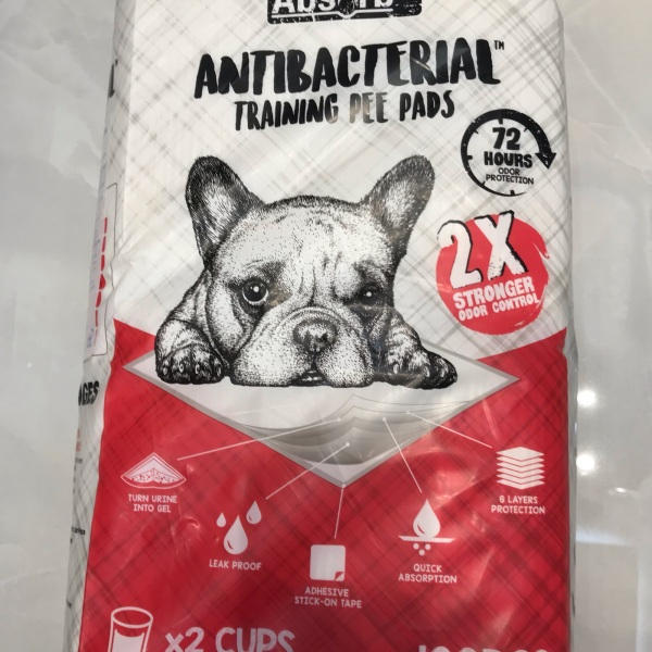Miếng lót vệ sinh Adsorb Antibacreria training pee pads màu đỏ