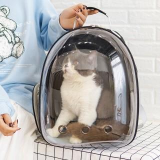 [MẪU MỚI NHAT 2021] Balo Phi Hành Gia Trong Suốt Cho Chó Mèo Thế Hệ Mới, Túi Du Lịch Thú Cưng Cao Cấp, Chất Liệu PVC An Toàn, Chịu Lực Tốt, Chống Nước Cao, Siêu Đẹp, Hoàn Hảo Cho Du Lịch, Đi Bộ, Đi Bộ Đường Dài Và Đi Chơi. thumbnail
