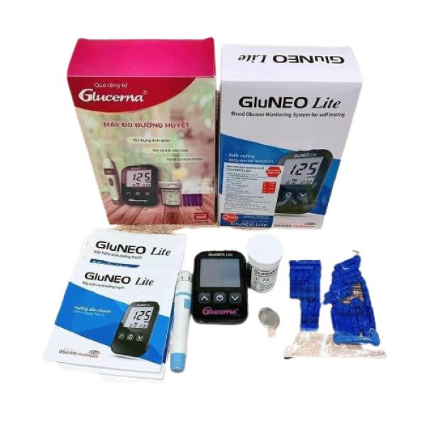 [HCM]Máy đo đường huyết quà của Glucerna bán chạy