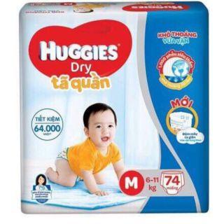 Tã quần Huggies M74 thumbnail