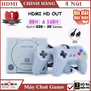 Máy chơi game 628 + 20 trò với kết nối cổng HDMI Station Only One- chơi game SEGA FC NES - model 2020 thumbnail