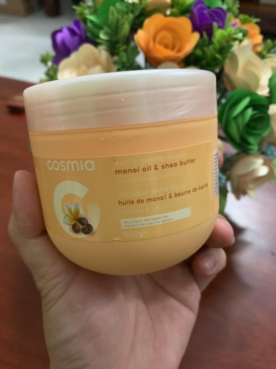 Kem ủ tóc Cómia tinh dầu monoi và hạt bơ