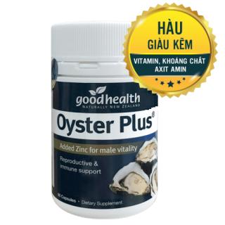 Tinh Chất Hàu New Zealand Goodhealth Oyster Plus 60 Capsules - Hỗ Trợ Sức Khỏe Phái Mạnh thumbnail