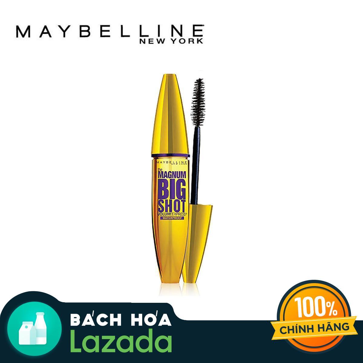 Giá Quá Tốt Để Có Mascara Dày Mi Cực đại Maybelline New York Magnum Bigshot (Đen)