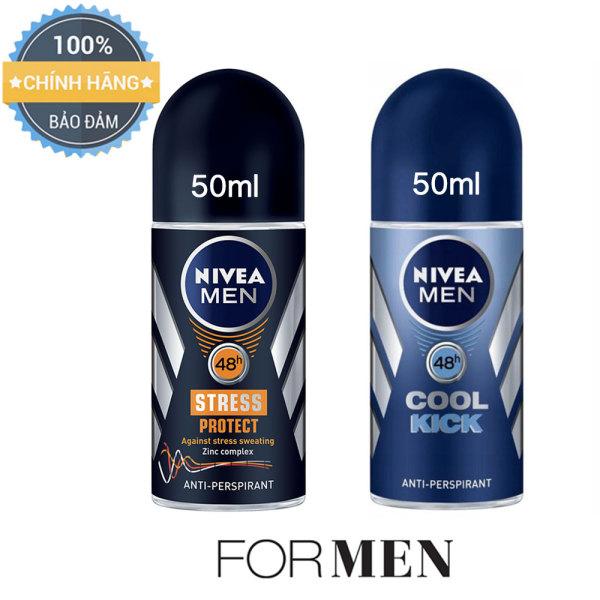 2 chai lăn khử mùi cho Nam NIVEA MEN - 50ml/chai