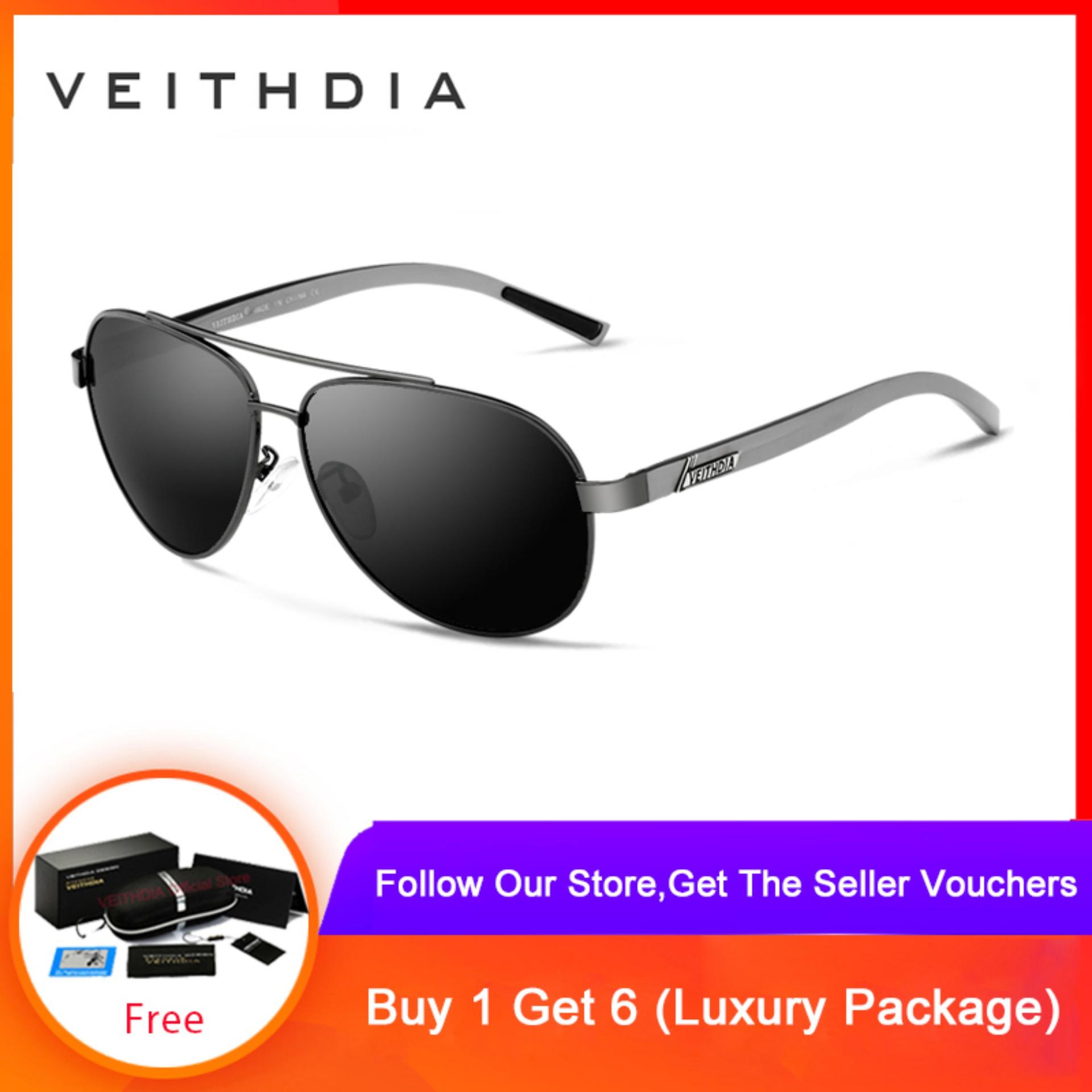 Mua Veithdia aluminum magnesium mens sunglasses polarized sunglasses for glasses men accessories for glasses 2605