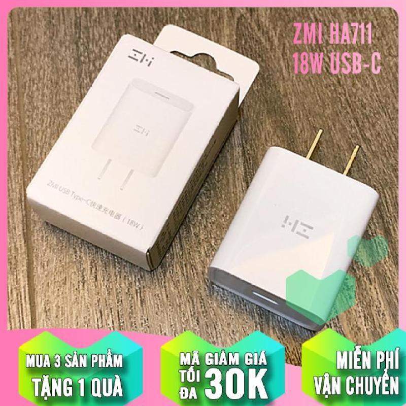 Giá Củ sạc nhanh ZMi HA711 USB-C QC 3.0 / PD 3.0 (18W)