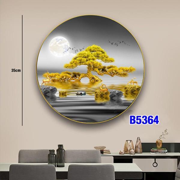 Tranh đèn LED 5D - 3 chế độ ánh sáng  AMIKURA53S sử dụng trang trí nội thất gia đình  mang phong cách châu âu