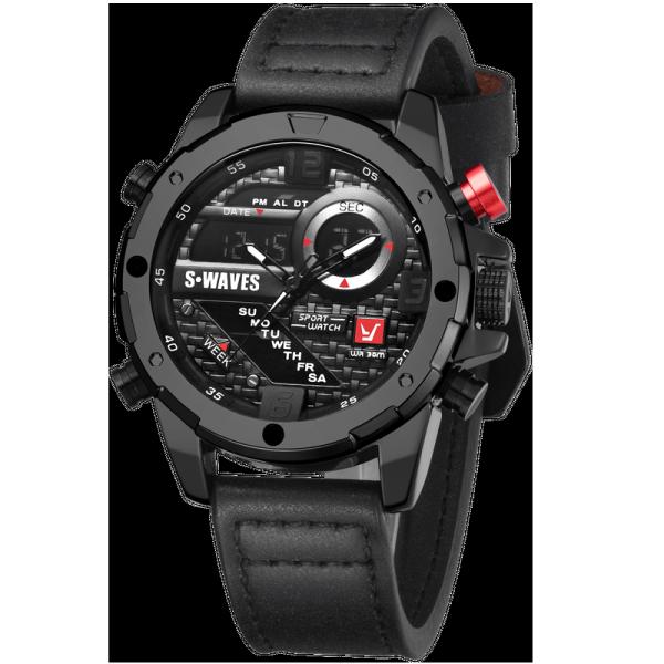 Đồng hồ nam Swave máy Nhật bền bỉ thời trang phong cách - Đồng hồ thể thao nam bán chạy