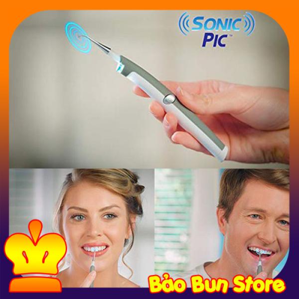 Dụng cụ lấy cao răng tại nhà, Máy Lấy Cao Răng Cầm Tay Sonic pic loại bỏ mảng bám và cao răng làm trắng răng