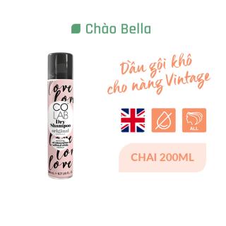 Dầu gội khô Colab hương nguyên bản Colab Dry Shampoo Original 200ml - chaobella thumbnail