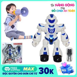 Robot đồ chơi điều khiển từ xa Q9 biết nhảy biết hát, tích hợp nhiều bài hát hot tiktok, đồ chơi robot điều khiển từ xa Q9, robot điều khiển, robot thông minh thumbnail