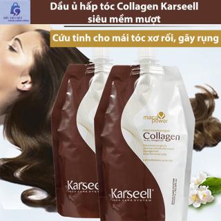 Dầu ủ hấp tóc Collagen 500ml - Kem hấp dầu siêu mềm mượt Karseell thumbnail