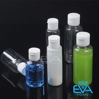 Chai Chiết Mỹ Phẩm Nhựa Du Lịch Nắp bật 50-75-100 ML thumbnail