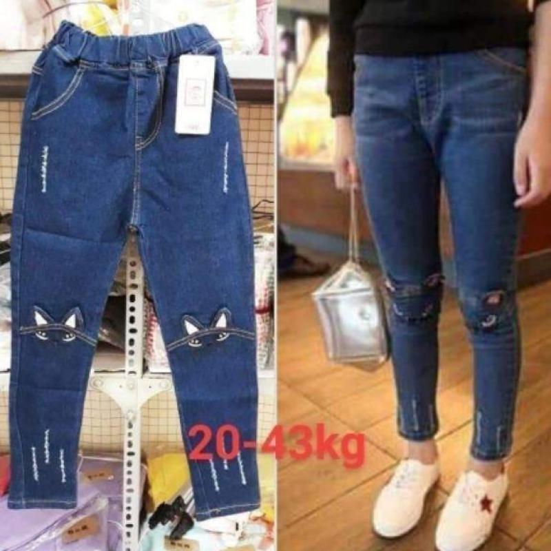 Nơi bán Quần bò(jeans)cho bé gái  size đại 13-45kg