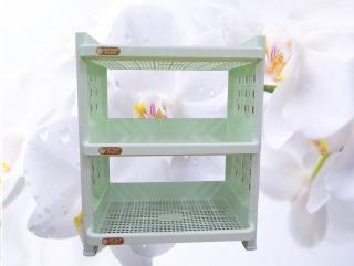 [K] Kệ nhựa 3t no.5528 việt nhật đồ dùng nhà bếp kệ nhựa - kệ 3 tầng lắp ráp cao cấp phụ kiện nhà bếp kệ chén 3 tầng kệ gia vị - tủ đựng hộp lưu trữ kệ chén bát thumbnail