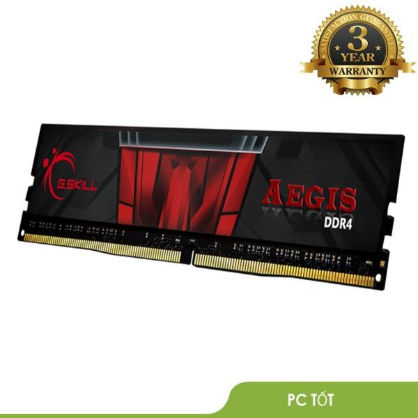 Bảng giá RAM G.SKILL AEGIS 8GB(8GBx1) DDR4 2666MHz F4-2666C19S-8GIS-Bảo hành 36 T Phong Vũ