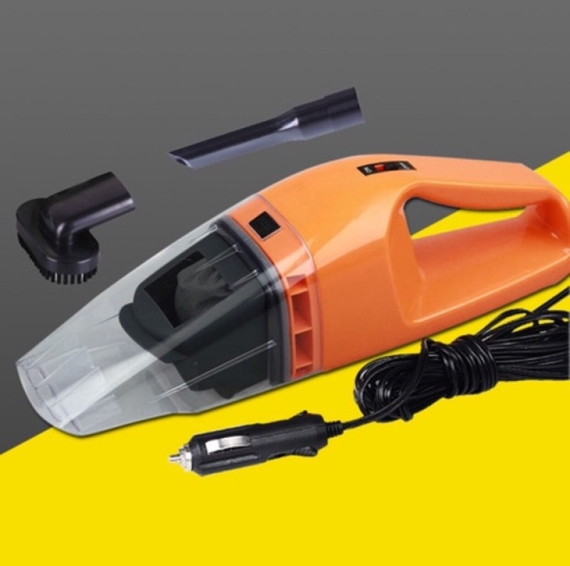 Máy hút bụi ô tô công suất cao 120W cao cấp sử dụng nguồn điện 12V (Giao màu ngẫu nhiên)