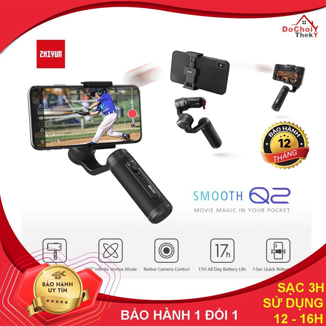 Giá Tay cầm Gimbal chống rung cho điện thoại Thông Minh Zhiyun Smooth Q2 - BẢO HÀNH 12 THÁNG