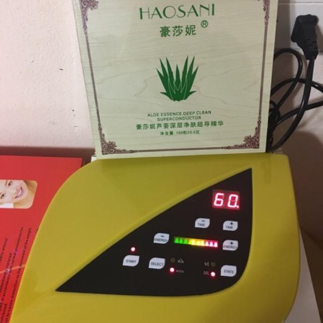 Combo máy hút chì thải độc và hộp chì thải độc 100 viên tốt nhất
