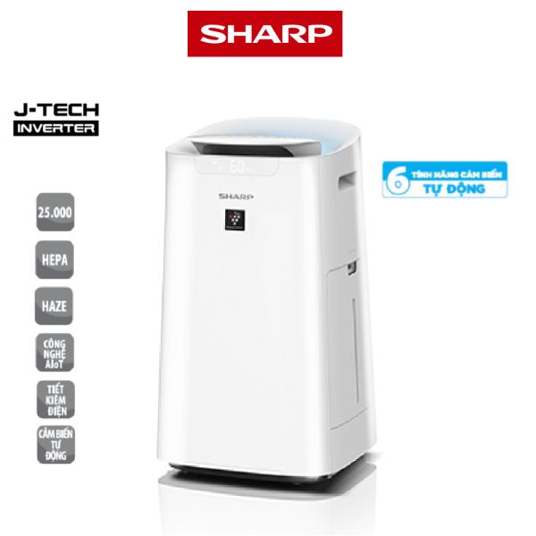 Máy lọc không khí và tạo ẩm Sharp KI-L60V-W ( Model 2021) - Hàng chính hãng